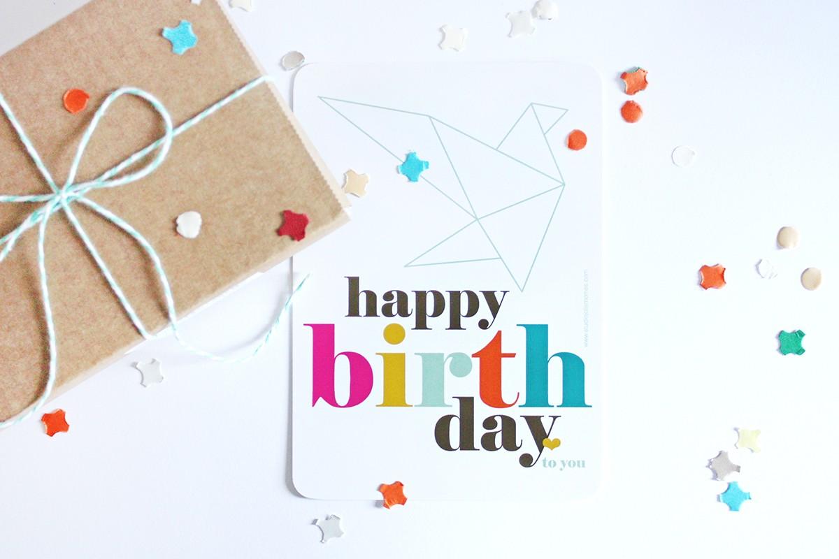 Happy birthday Origami - JOLIS MÔMES - photo#43