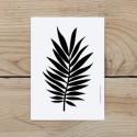 Leaf post card