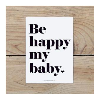 Carte Be Happy