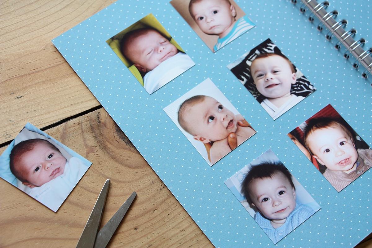 Smile mon petit album corail jolis m mes - Frais de port mon album photo ...