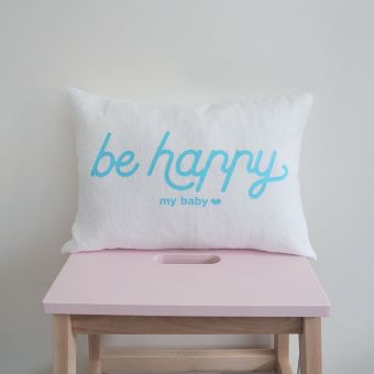 Be happy cushion **linen**