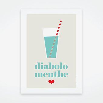 Diabolo Menthe ~ Lait Fraise